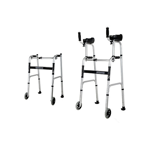 Aluminum Frame Rollator Walker Walking Aids for Disabled