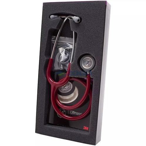 3 M Littmanns Classic III Stethoscope Burgury Tube
