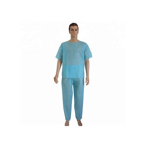 Scrub Suits Top And Trousers Non Woven Non Sterile Xxlarge