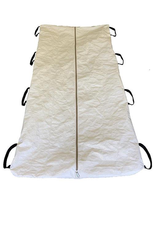 BIOHAZARD 280GSM BODY BAG - HUMAN REMAINS Pouch minimum order 1000 xx