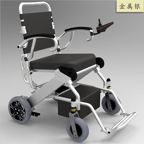 Medical Equipment Handicapped Electric Folding Lightweight Portable Wheelchair