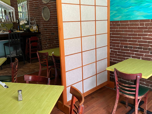 Movable Table Barriers in Lieu of 6-Foot Distancing Requirement