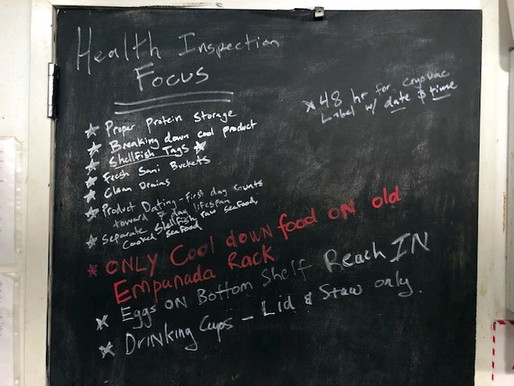 Doing it right. A health inspection focus