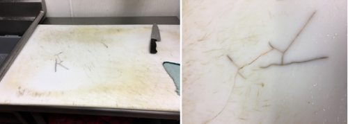 Biofilms : Secret colonies growing on your kitchen cutting boards?