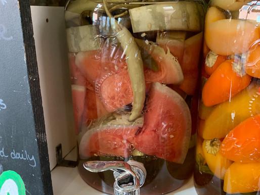 Quiz Show - Cut Watermelon in Alcohol