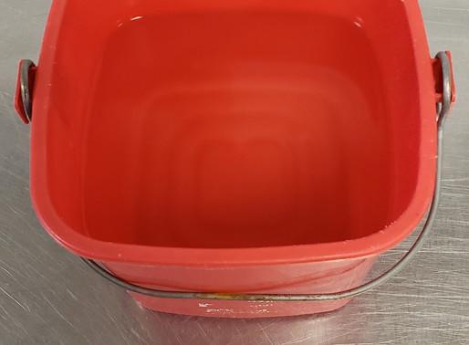 Q & A - Sanitizer Solution - Bucket or Spray bottle?