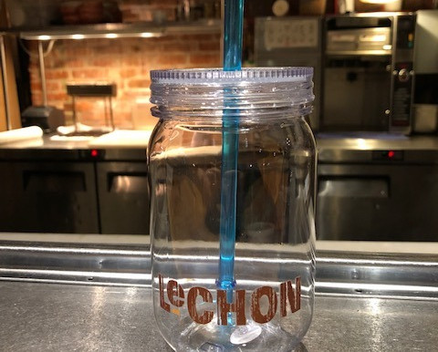Doing it right. Approved Drinking Vessel for the Kitchen