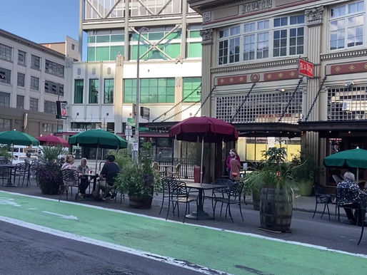Restaurants are Expanding Seating into the Streets