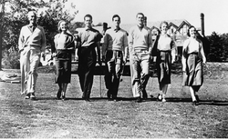 Farrell Family at Baltusrol, 1953