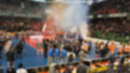 DVV Pokalfinale 2014 Bloco Caju Berlin