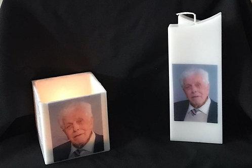 Herinnerings windlichten / kaarsen
