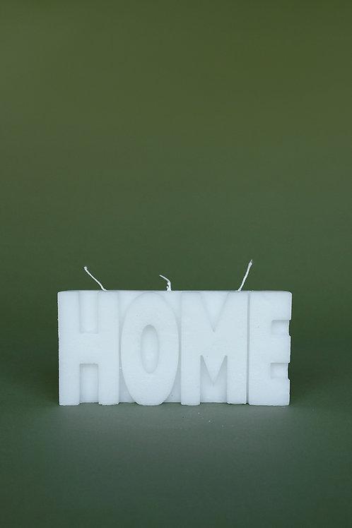 """HOME"" kaars"