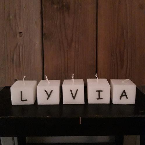 """""""letter""""kaarsen"""