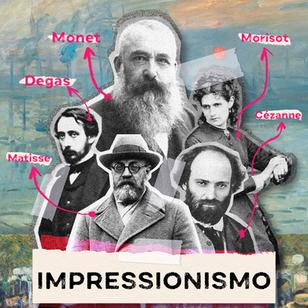 Movimento da Vez - Impressionismo