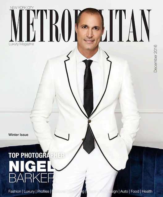 NIGEL BARKER is styled and photographed by LEONID GUREVICH