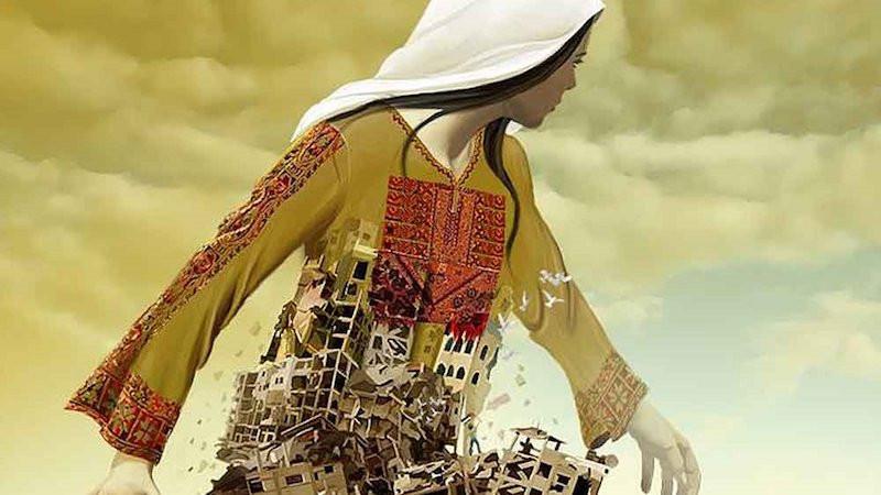 الصورة للفنان عماد أبو اشتية