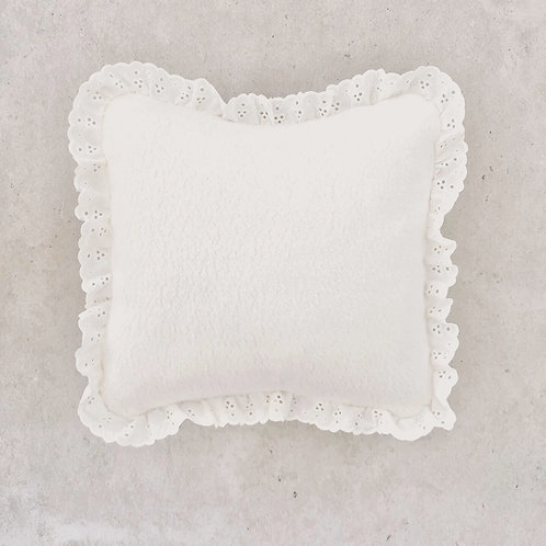 COUSSIN SHERPA BIO X BRODERIE ANGLAISE