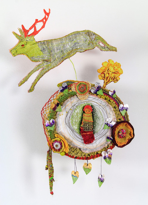 """Dans le jardin des """"cerf-titudes"""" les """"bis-cornus"""" ont lustré plumes et bois..."""