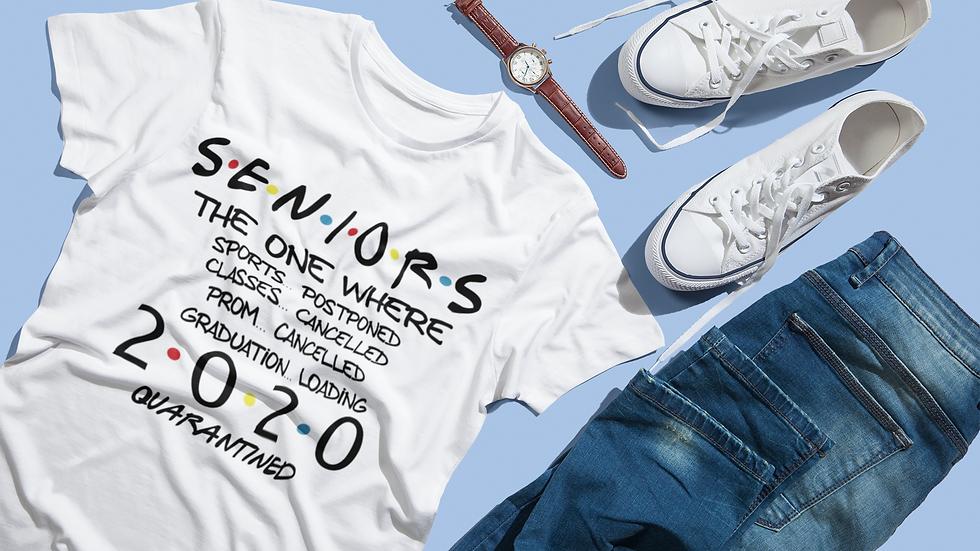 Postponed Senior Year 2020 T-Shirt