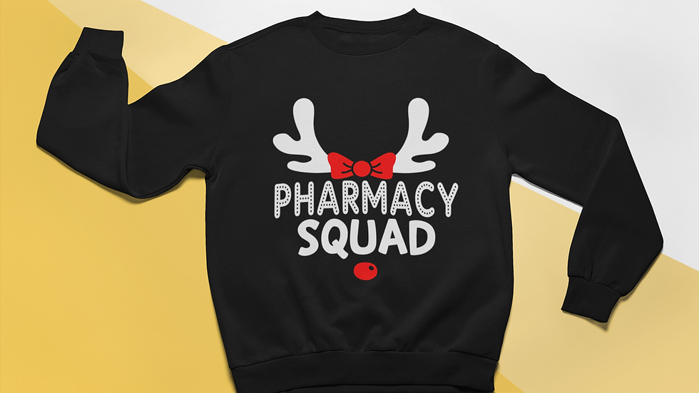 Pharmacy Squad Christmas Sweater