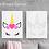 Thumbnail: Heart Unicorn Canvas