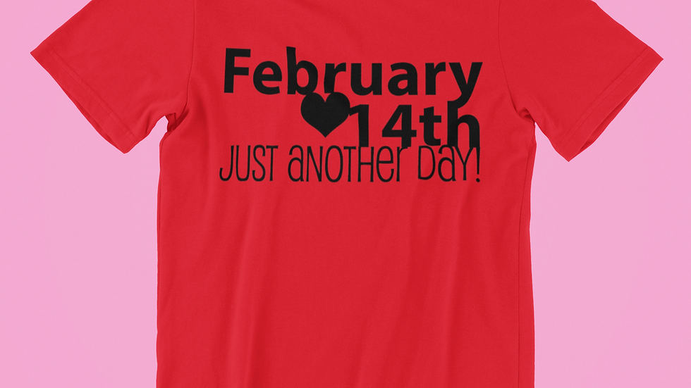 Anti-Valentine's Day Tee