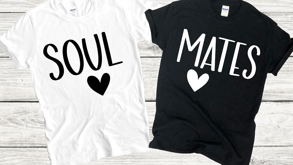 Soul Mates Couples Tee