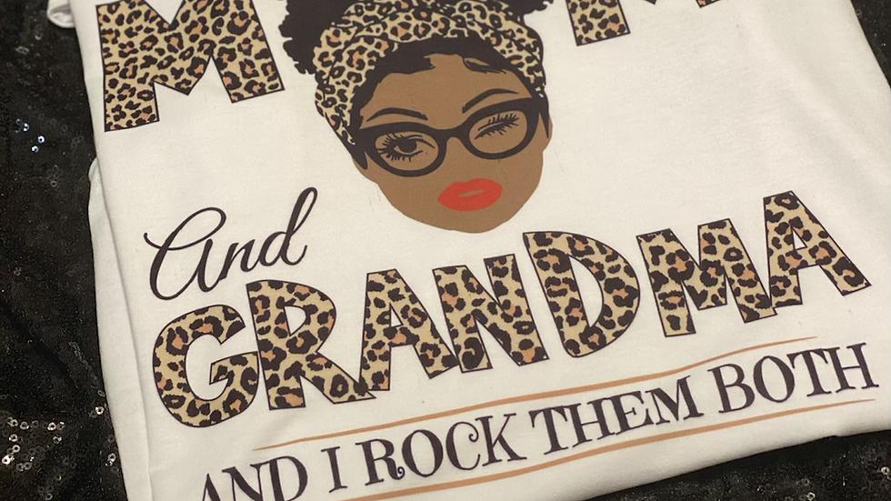 Two Titles Grandma Tee
