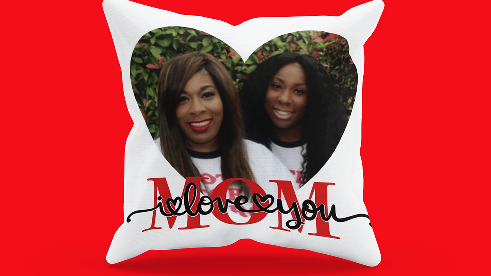 Mother's Day Photo Pillow