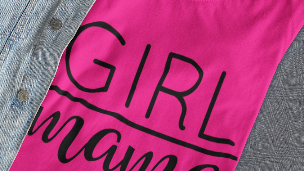Girl Mama T-Shirt