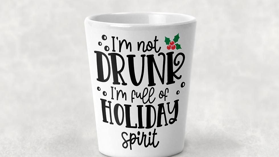 Holiday Spirit Shot Glass