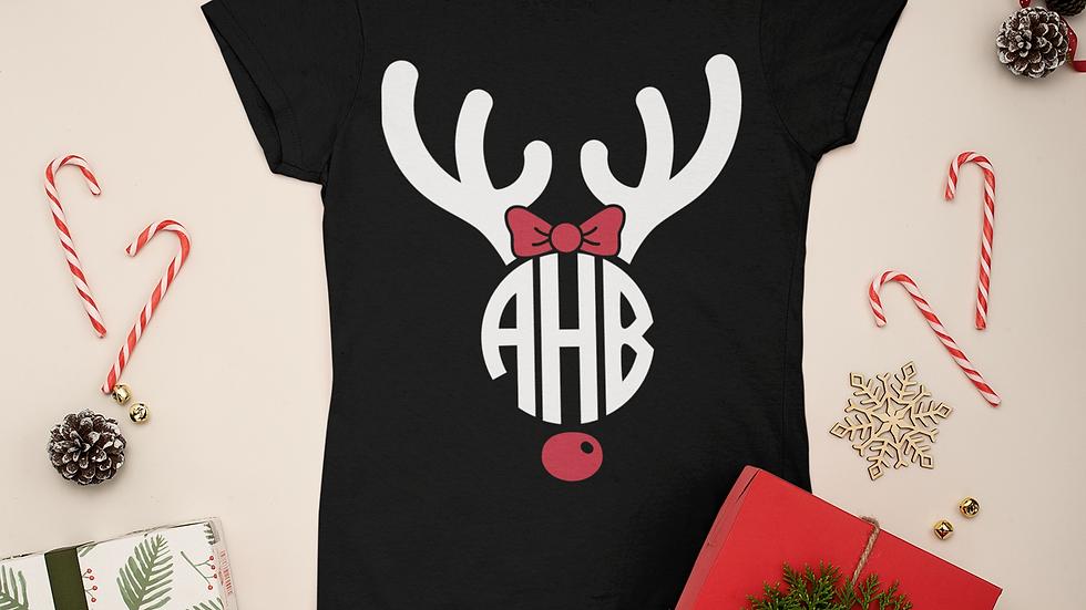 Christmas Monogram T-Shirt