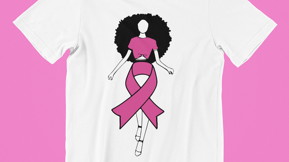 Afro Ribbon T-Shirt
