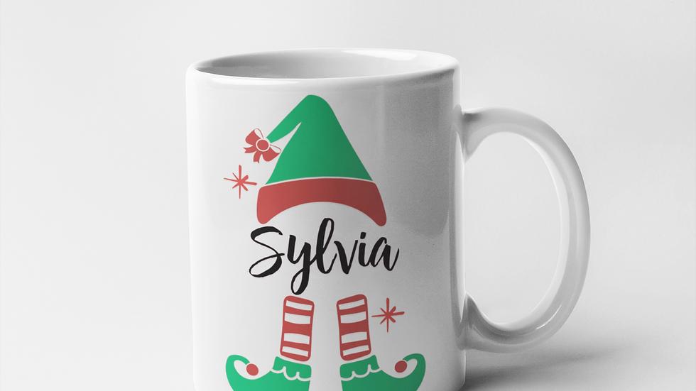 Elf Christmas Mug