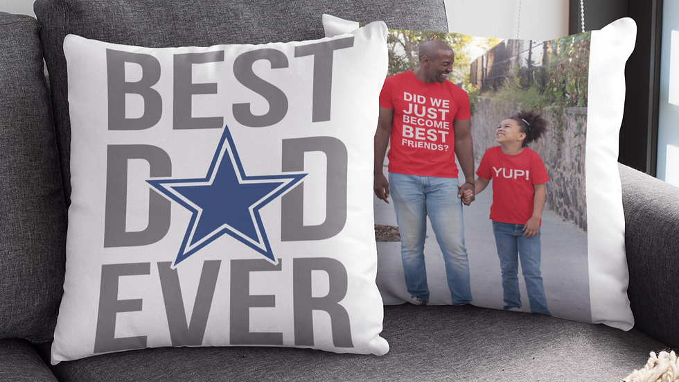 Father's Day Photo Pillow