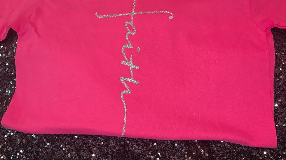 Pink Faith Clearance T-Shirt