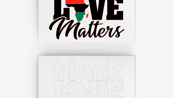 Black Love Matters Canvas
