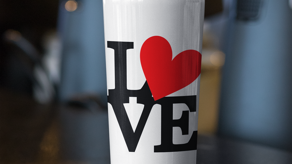 Valentines Stainless Steel Tumblers