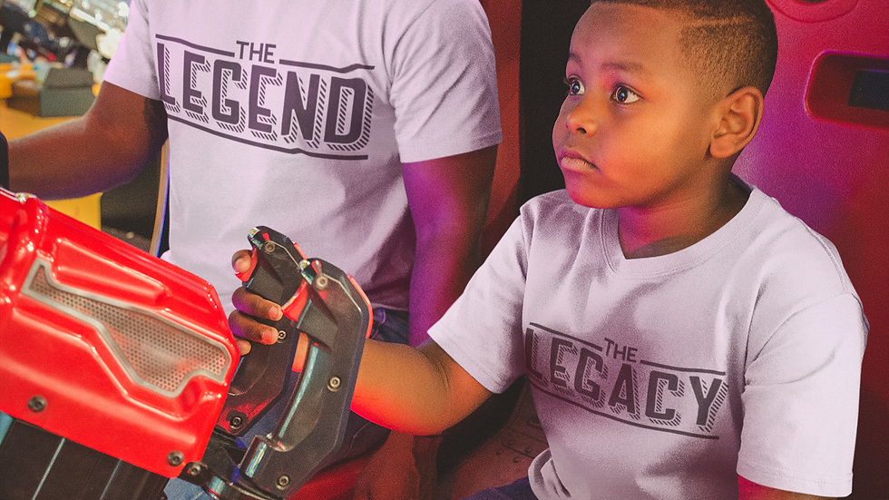 Legend & Legacy Father's Day T-Shirts