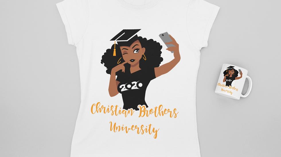Afro Graduation T-Shirt