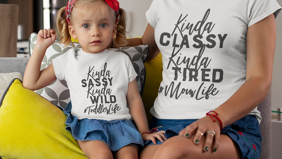 Mommy & Me Class & Sassy T-Shirts