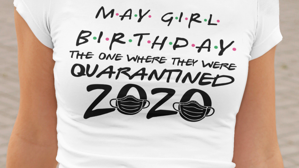 Quarantined Birthday Tee
