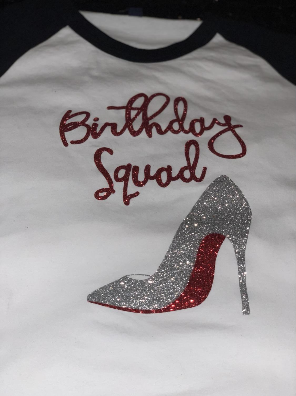 Birthday Squad Raglan Clearance