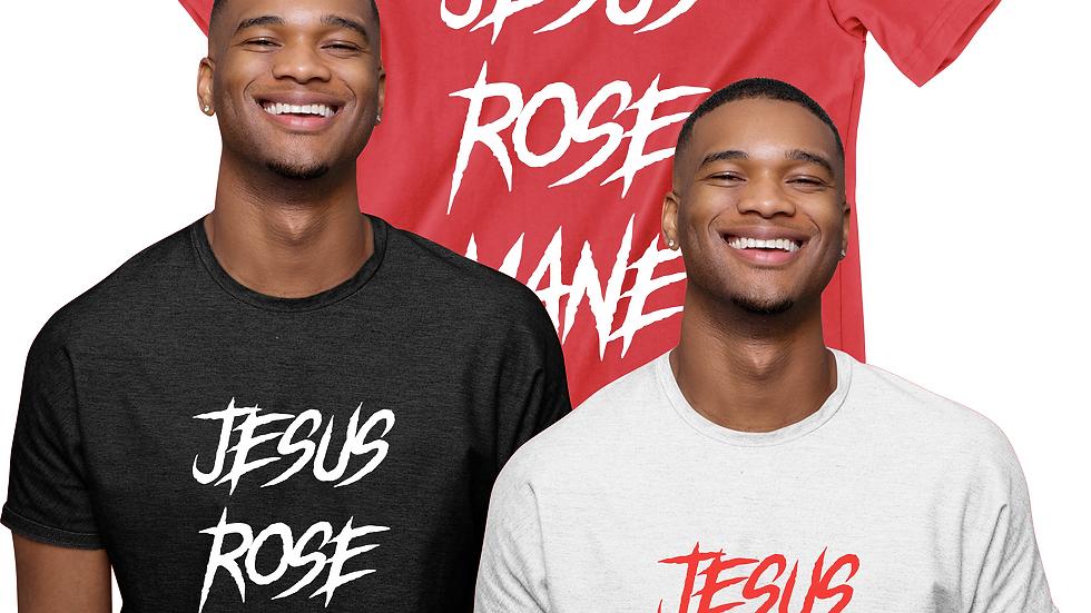 Jesus Rose Mane Tee