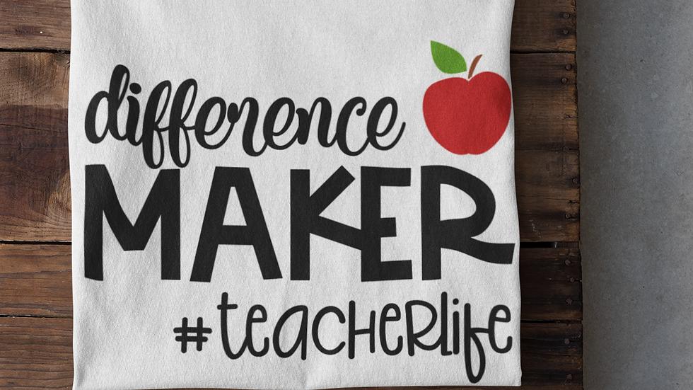 Difference Maker Teacher Tee