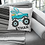 Thumbnail: Bunny Truck Pillow
