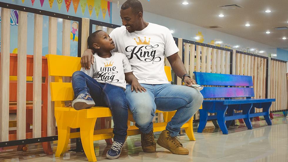 Daddy & Me King T-Shirts