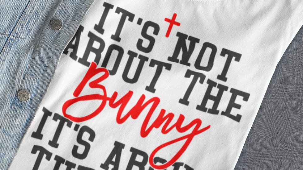 It's About The Lamb Easter T-Shirt
