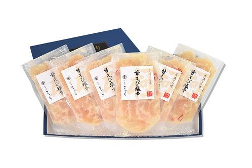 甘えび塩辛(125g×6パック)