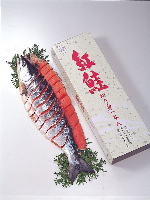 紅鮭姿切身(1切真空)